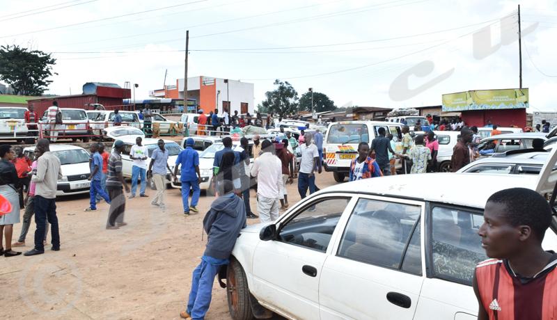 Gitega : un seul parking  dans toute la ville