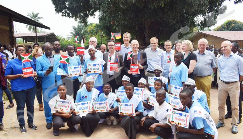 L'Union européenne et ses Etats membres auprès des populations des provinces sud du Burundi
