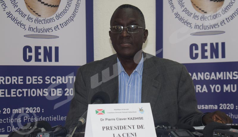 Burundi/Elections 2020: la Ceni rejette 4 candidatures à la présidentielle