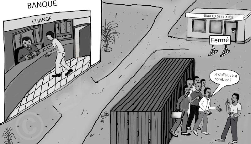 Fermeture des bureaux de change,  un boulevard pour la spéculation?