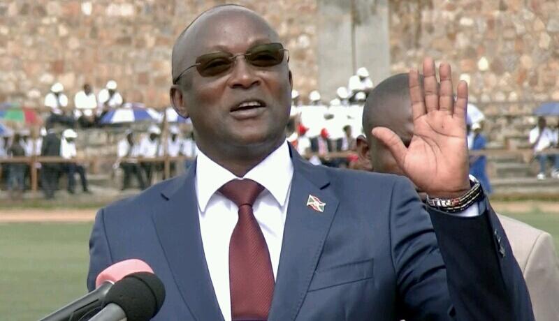 Gaston Sindimwo, candidat présenté par l'Uprona à la présidentielle de mai 2020