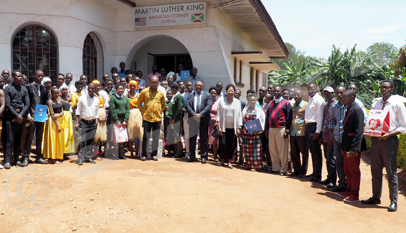 L'American Corner de Gitega souffle ses six bougies