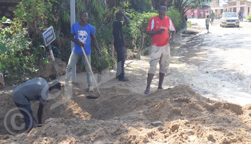 Intempéries : A Musaga, la population se mobilise