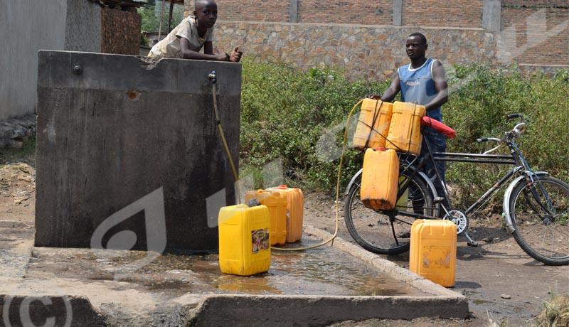 Zone Gihosha : pénurie d'eau dans le quartier Muyaga