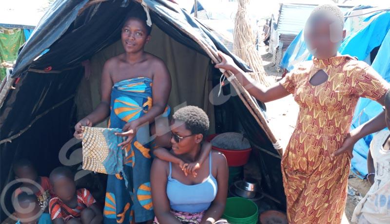 Gatumba: La misère n'épargne pas la période menstruelle