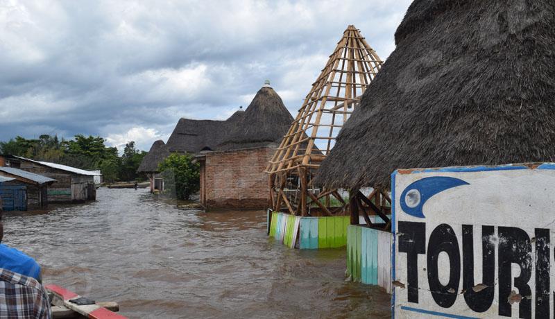 Rumonge : le lac Tanganyika déloge ses riverains