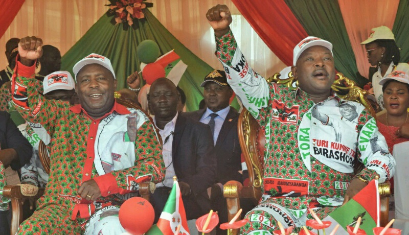 Elections 2020 : « Maudit soit qui voudra tenter toute fraude électorale », dixit le président Nkurunziza