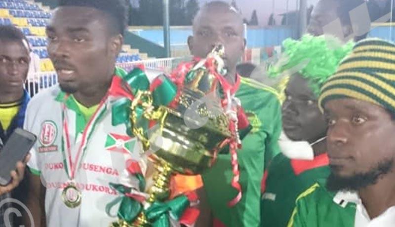 Musongati FC remporte une coupe, pour la première fois de son histoire