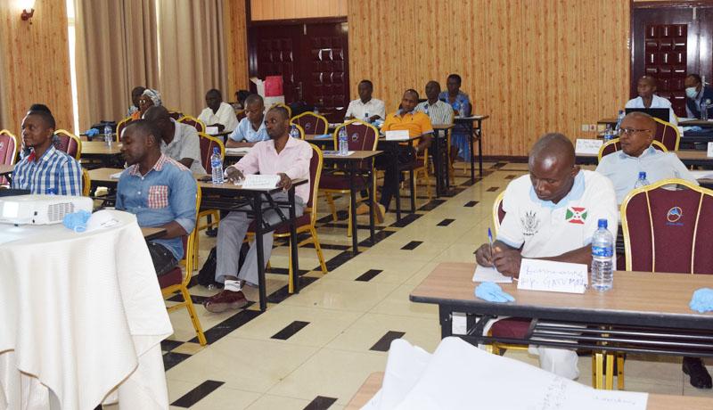 Des prestataires venus de 5 districts sanitaires formés sur l'intervention rapide en urgence de santé publique