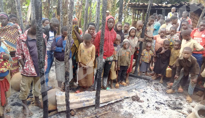 Muyinga : toute une famille décimée dans un incendie
