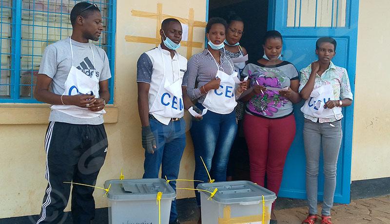 Elections collinaires 2020 : En mairie de Bujumbura, une faible affluence
