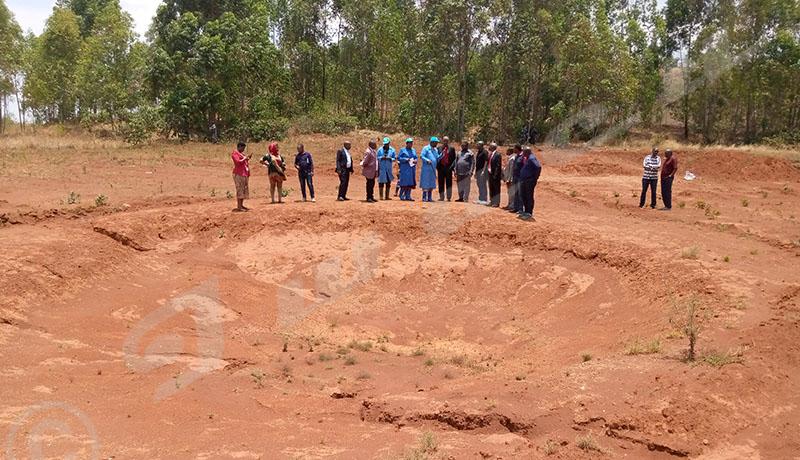 Gitega-Karusi : une délégation de l'EAC visite des fosses communes de  1972