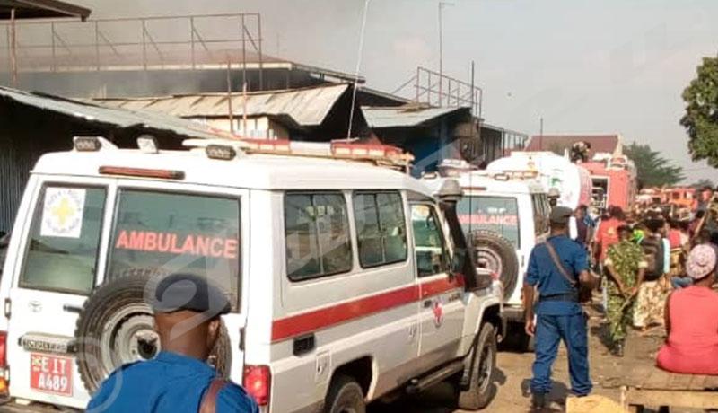 Commune Ntahangwa : le marché de Kamenge en feu