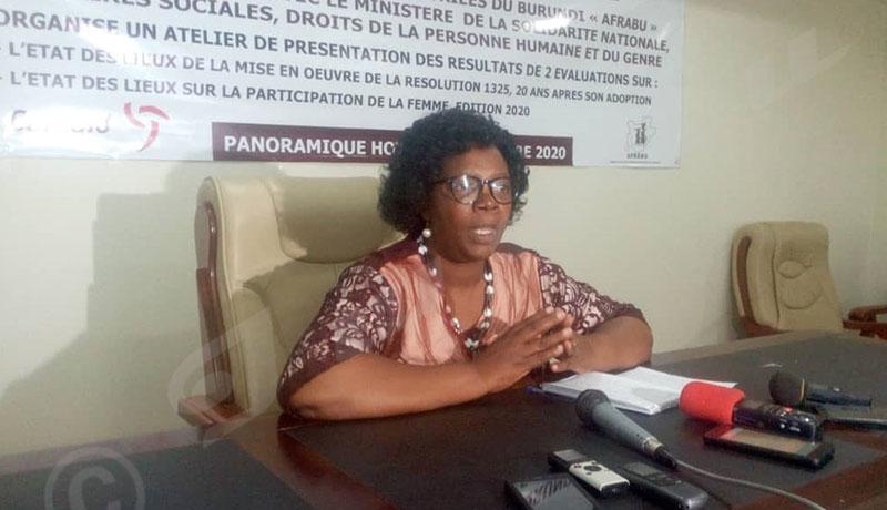Le Burundi sur le bon chemin pour la mise en application de la Résolution 1325
