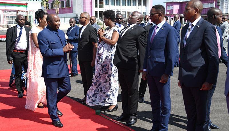 18ème Sommet de la CEEAC: le président Evariste Ndayishimiye s'est envolé pour Libreville