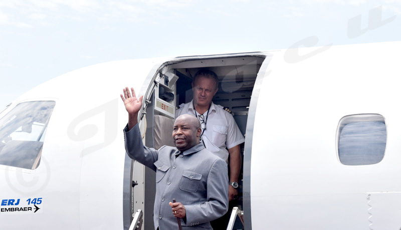 Le président Evariste Ndayishimiye s'envole pour Malabo