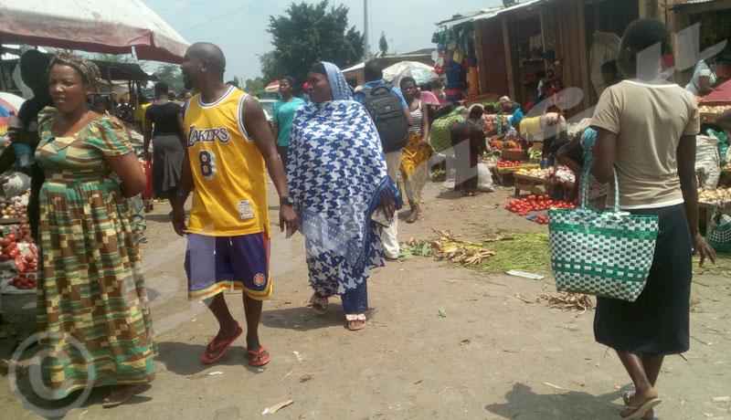 Kamenge : Quand toute une avenue se transforme en marché