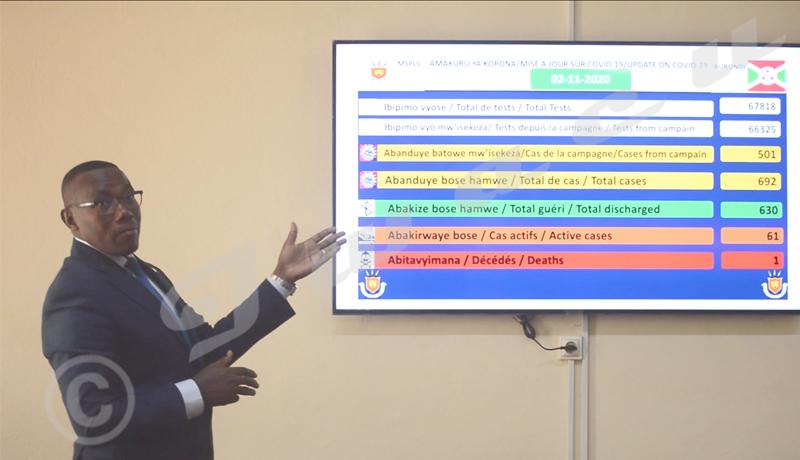 Burundi/Covid-19 : « 95% des cas positifs sont importés »