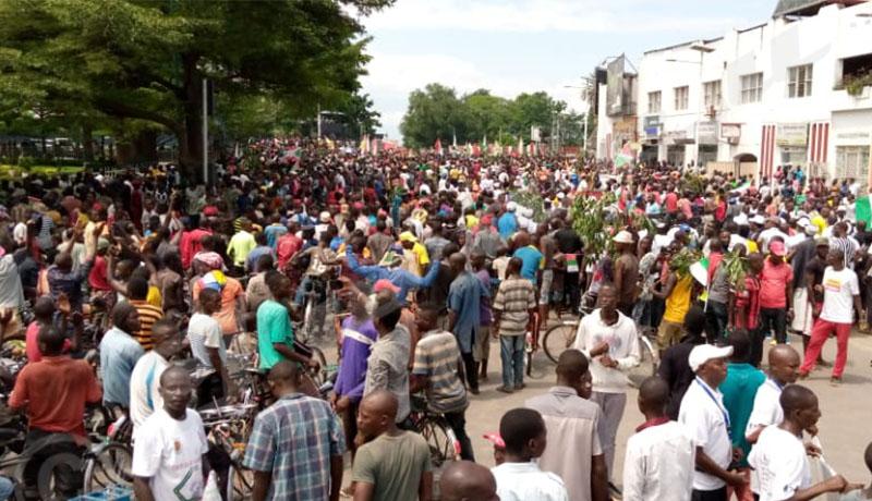 Manifestations pour saluer le  retrait du Burundi de l'agenda du Conseil de sécurité des Nations unies