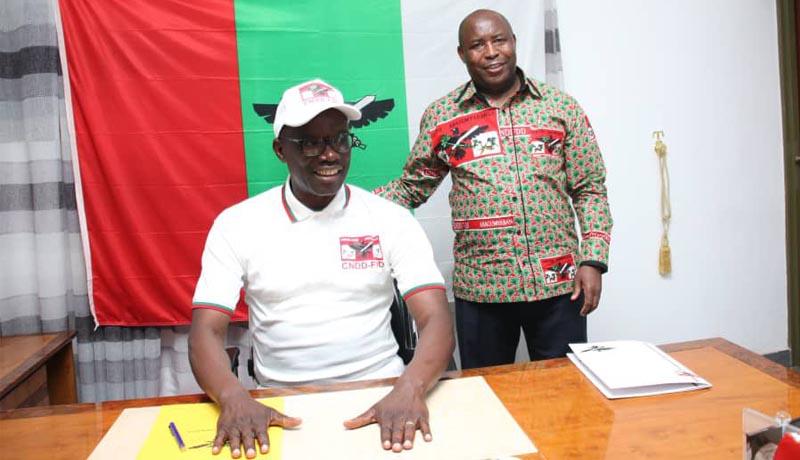 Révérien Ndikuriyo, le nouvel ''aigle en chef'' montre déjà ses serres
