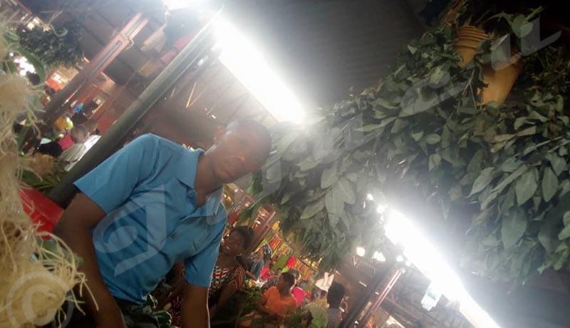 Covid-19 : Au marché dit ''Cotebu'', on s'arrache du gingembre,  du citron et les feuilles d'eucalyptus