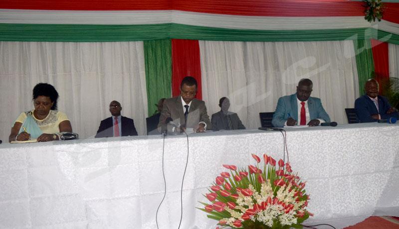 Mairie de Bujumbura : « gare à ceux qui détournent les fonds des Coopératives Sangwe »