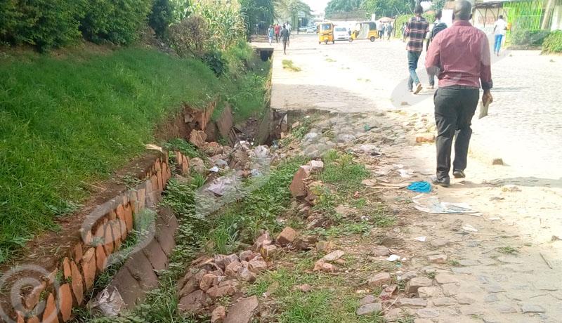 Mukaza : l'avenue Moso se délabre de plus en plus
