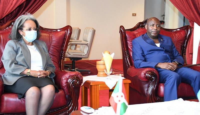 Burundi/Ethiopie – Visite de la présidente Zewde pour « jeter les jalons du renforcement des liens bilatéraux »