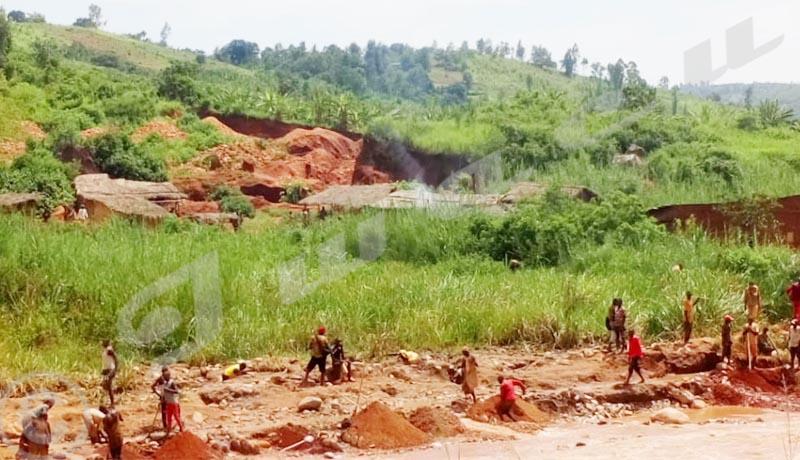 Cibitoke : Au moins 12 orpailleurs tués suite aux éboulements de terrain