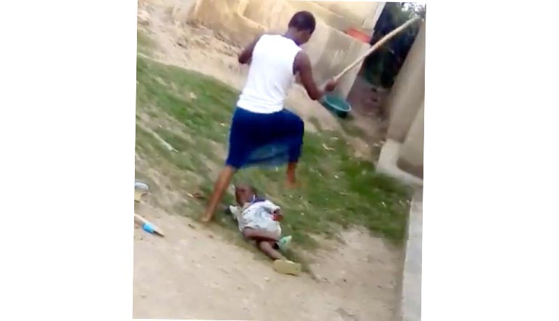 Un enfant martyrisé