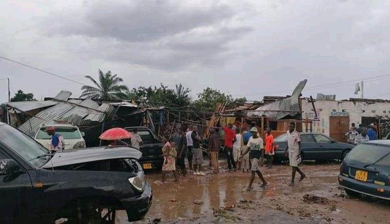 Intempéries : une personne morte et plus de 600 maisons détruites (Bilan provisoire)