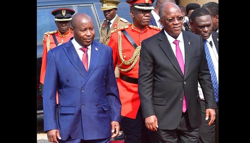 Décès du président Magufuli : le président Ndayishimiye choqué