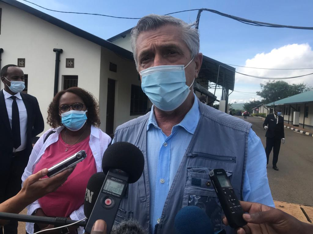 Filippo Grandi : «Me voici avec des gens qui rentrent parce qu'il y a la paix au lieu des gens fuyant la guerre»