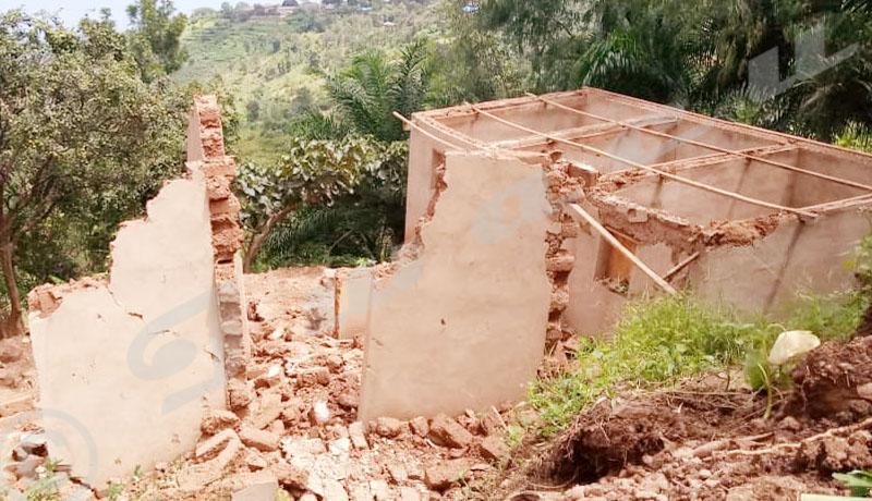 Glissements de terrain: les habitants de Migera dans la province Bujumbura crient au secours