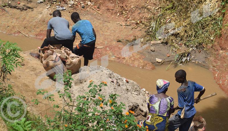 Rivière Nyabagere : ses riverains et les extracteurs de moellon sont à couteaux tirés