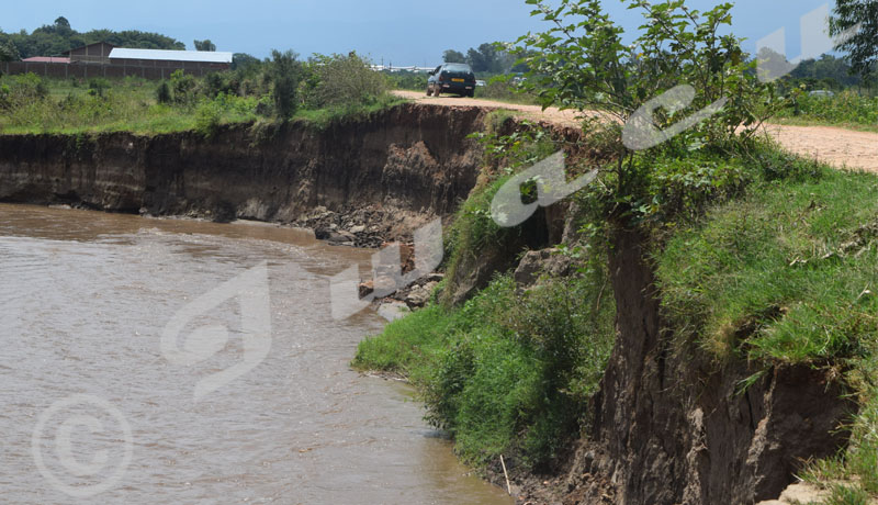 La rivière Mpanda en crue menace la zone Rukaramu et ses environs