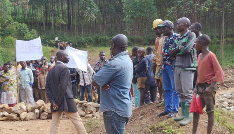 Suspension provisoire des activités de la société Tanganyika Mining  Burundi