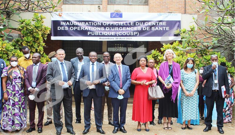 Le Burundi se dote d'un centre des opérations d'urgence de santé publique (COUSP) et d'un centre de prise en charge de la Covid-19