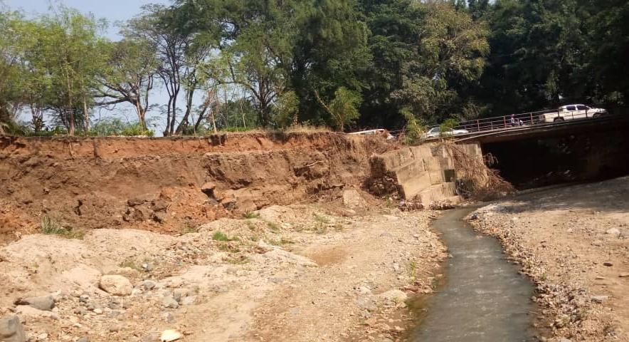 RN3: le pont Muha menace de s'effondrer