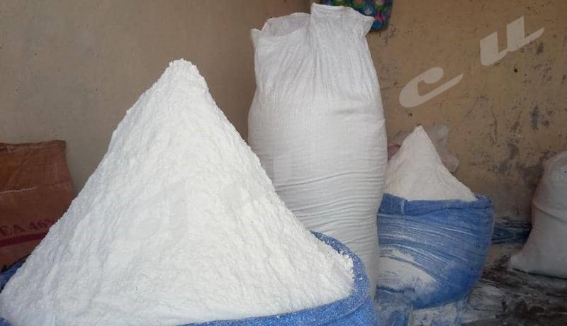 Le prix de la farine de manioc en hausse