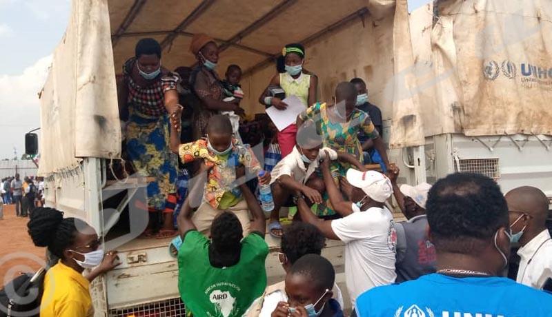 246 réfugiés burundais rapatriés de la RDC