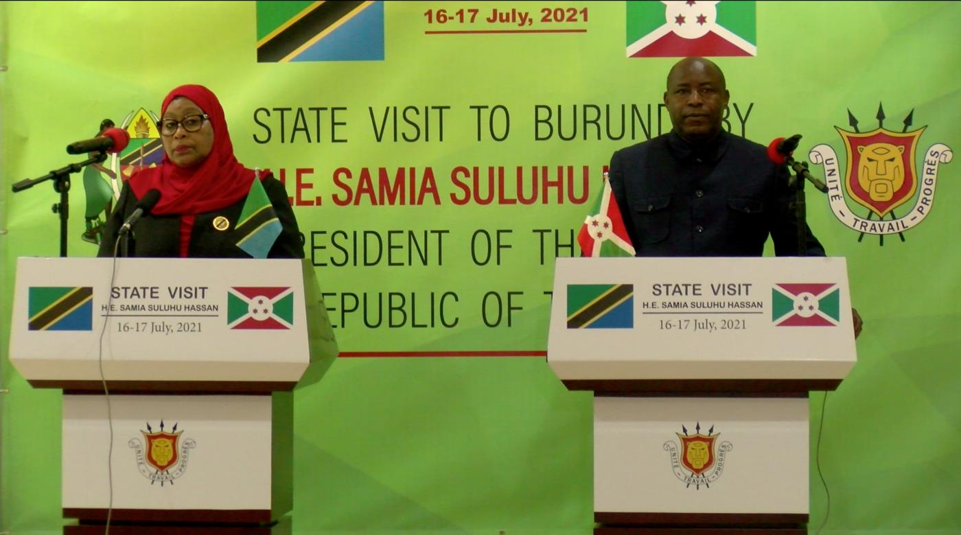 Visite d'état de Samia Suluhu Hassan au Burundi «pour booster les échanges économiques»