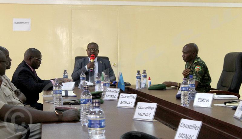 « Pas de groupes armés au Burundi », selon le ministre de la Défense