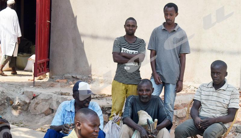 Bujumbura : Certains maçons et charpentiers dans le désarroi