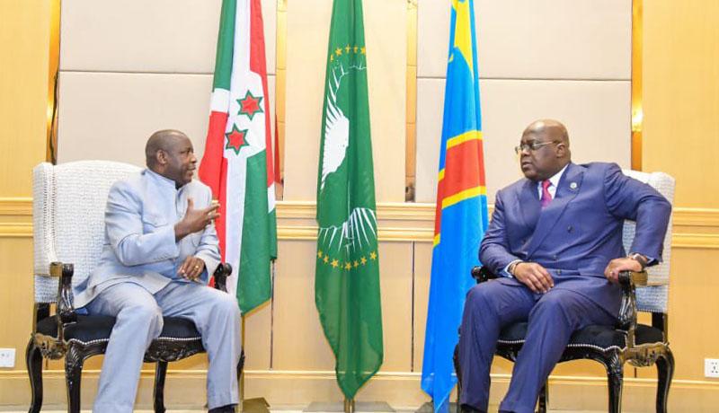 Gitega et Kinshasa déterminés à éradiquer les groupes armés opérant dans la sous-région