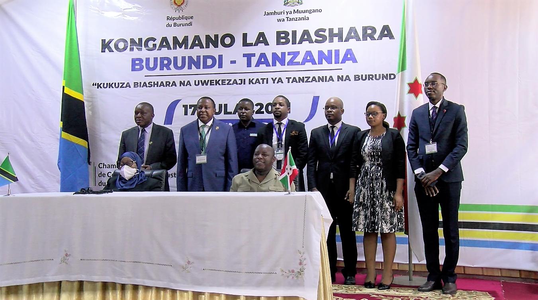 Gitega et Dodoma pour plus de coopération dans le commerce et investissement