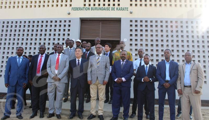 Sport : un dojo inauguré à Bujumbura
