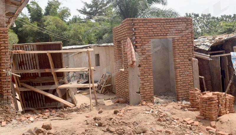 Mugoboka : le délai de reconstruction des maisons détruites illégalement, non respecté