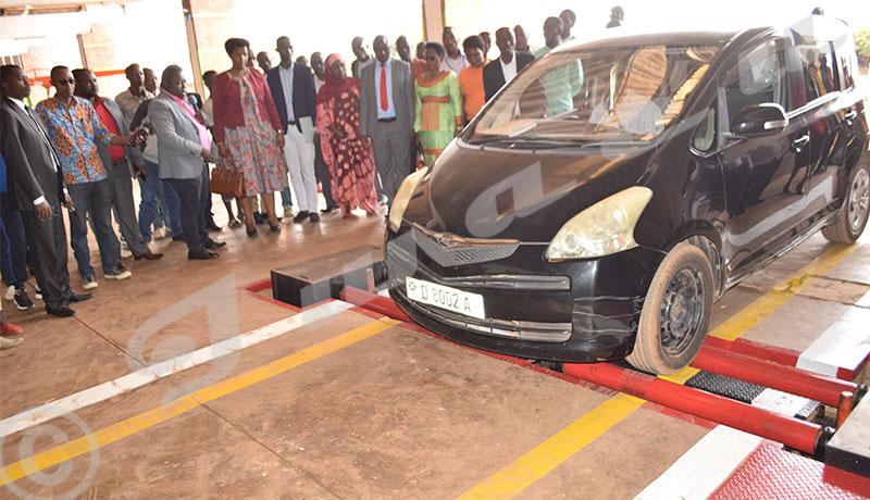Enfin le contrôle technique pour véhicules à Gitega