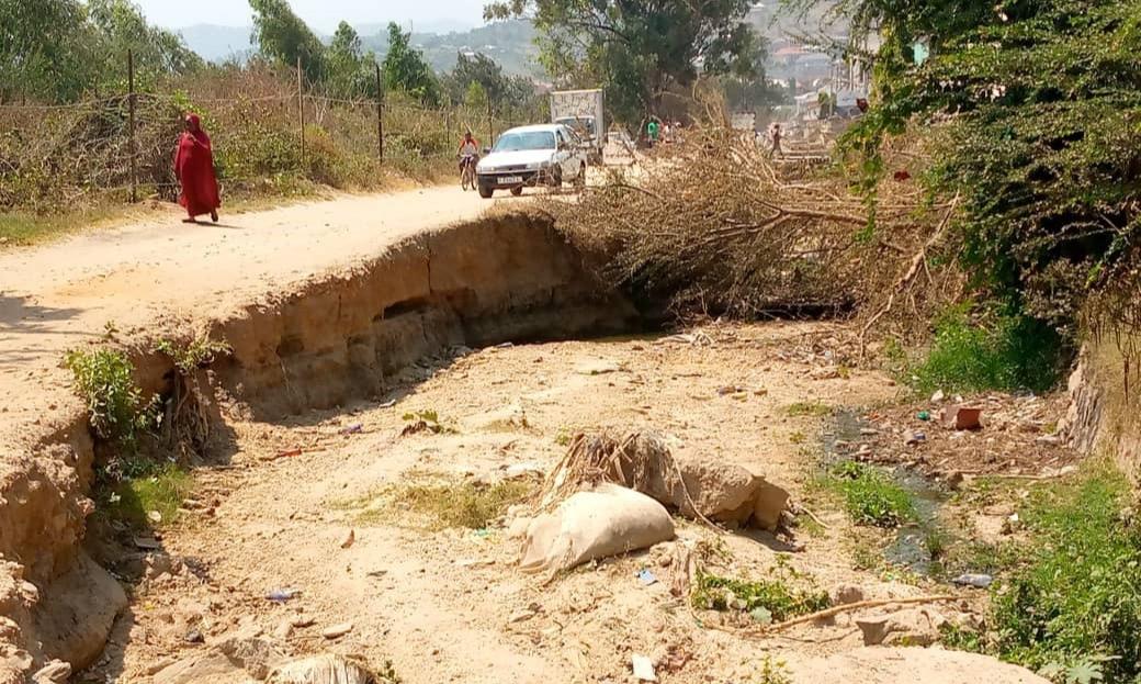 Musaga: l'avenue Gasekebuye menacée de coupure par effondrement